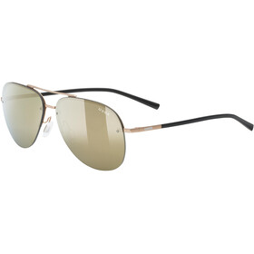 UVEX LGL 40 Okulary, gold mat/mirror gold